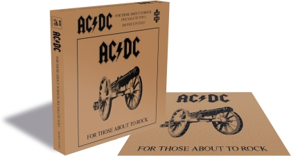 AC/DC - For Those About To Rock (500 Piece Jigsaw Puzzle)