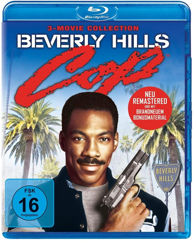 Beverly Hills Cop - 3-Movie Collection (Remastered, 3 Blu-rays)