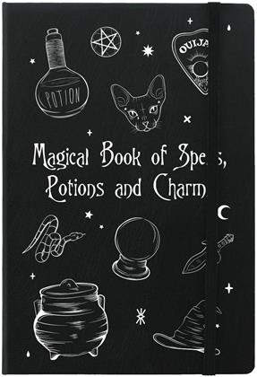 Magical Book of Spells - A5 Hard Cover Notebook