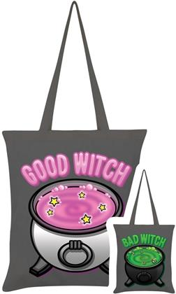 Good Witch Bad Witch - Graphite Grey Double Sided Tote Bag