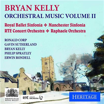 Royal Ballet Sinfonia, Manchester Sinfonia, RTE Concert Orchestra, Raphaele Orchestra & Brian Kelly - Orchestral Music Volume 2