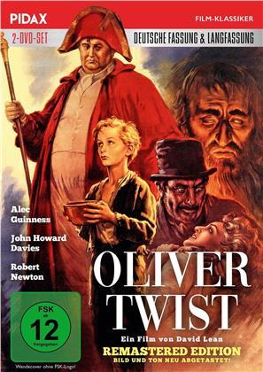 Oliver Twist (1948) (Deutsche Fassung, Pidax Film-Klassiker, Langfassung, Remastered, 2 DVDs)