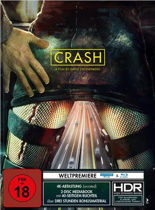 Crash (1996) (Limited Edition, Mediabook, 4K Ultra HD + Blu-ray)