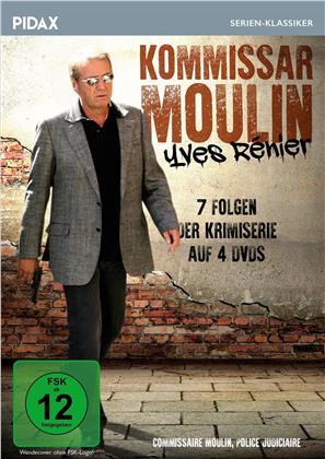 Kommissar Moulin - 7 Folgen (Pidax Serien-Klassiker, 4 DVDs)