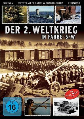 An den Fronten des Krieges - Der 2. Weltkrieg in Farbe (3 DVDs)