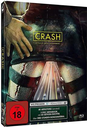Crash - Cover Modern (1996) (Limited Edition, Mediabook, Blu-ray + DVD)