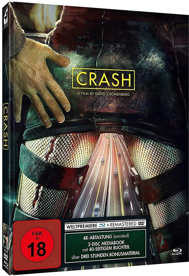 Crash - Modern Cover (1996) (Limited Edition, Mediabook, Blu-ray + DVD)
