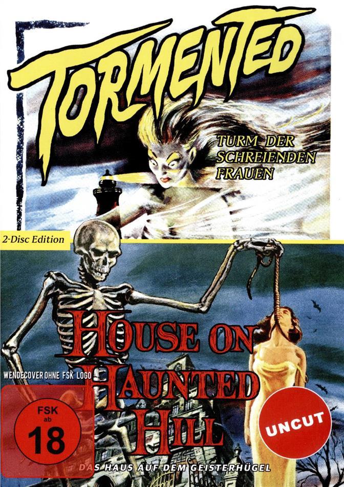 Tormented - Turm der schreienden Frauen / House on Haunted Hill - Das Haus auf dem Geisterhügel (Uncut, 2 DVD)