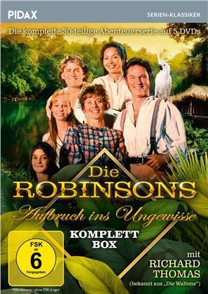 Die Robinsons - Aufbruch ins Ungewisse - Die komplette 30-teilige Abenteuerserie (Pidax Serien-Klassiker, 5 DVDs)