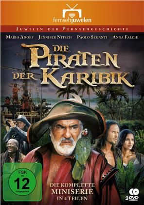 Die Piraten der Karibik - Die komplette Miniserie in 4 Teilen (Fernsehjuwelen, 2 DVDs)