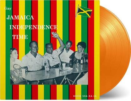 Gay Jamaica Independence Time (Music On Vinyl, 2020 Reissue, Limited, Papersleeve Limited Edition, Orange Vinyl, LP)