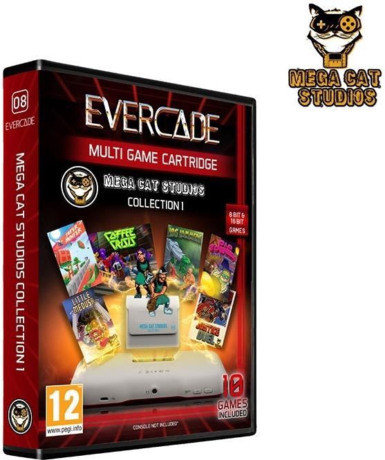 Blaze Evercade Mega Cat Cartridge 1