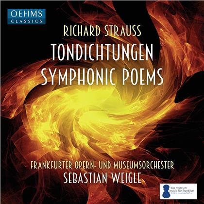 Richard Strauss (1864-1949), Sebastian Weigle & Frankfurter Opern- und Museumsorchester - Tondichtungen - Symphonic Poems