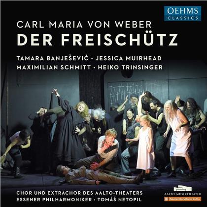 Carl Maria von Weber (1786-1826), Tomas Netopil, Tamara Banjesevic, Jessica Muirhead, Maximilian Schmitt, … - Der Freischütz (2 CDs)