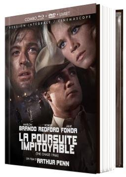 La poursuite impitoyable (1966) (Limited Edition, Mediabook, Blu-ray + DVD + Booklet)