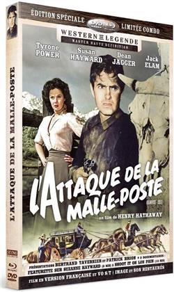L'attaque de la malle-poste (1951) (Western de Légende, s/w, Limited Edition, Restaurierte Fassung, Special Edition, Blu-ray + DVD)