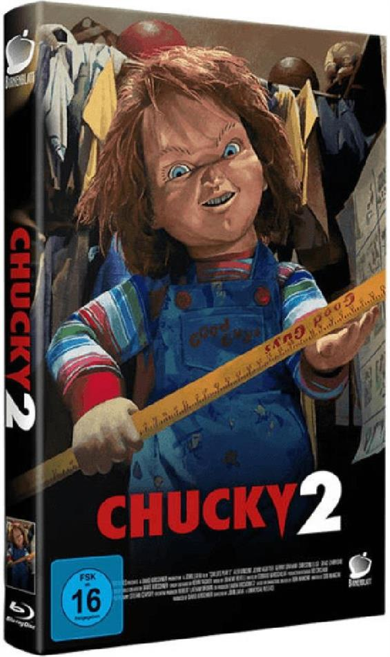 Chucky 2 (1990) (Grosse Hartbox, Limited Edition, Uncut, Blu-ray + CD)