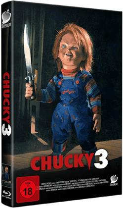 Chucky 3 (1991) (Grosse Hartbox, Limited Edition, Uncut, Blu-ray + CD)