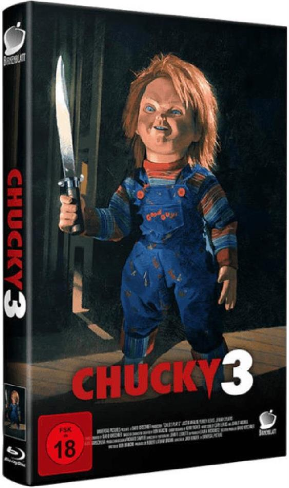 Chucky 3 (1991) (Grosse Hartbox, Edizione Limitata, Uncut, Blu-ray + CD)