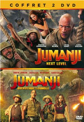 Jumanji - Next Level / Jumanji - Bienvenue dans la jungle (2 DVD)