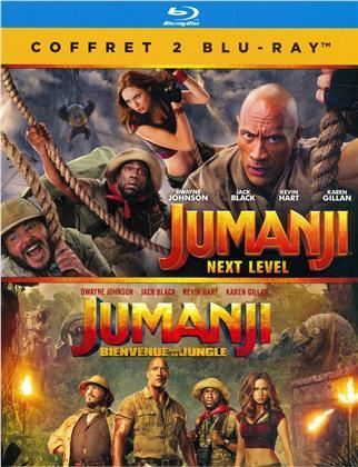 Jumanji - Next Level / Jumanji - Bienvenue dans la jungle (2 Blu-rays)