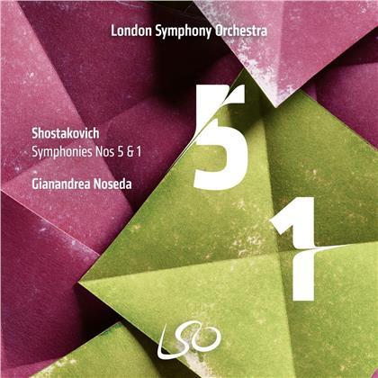 Dimitri Schostakowitsch (1906-1975), Gianandrea Noseda & London Symphony Orchesta - Symphonies Nos. 5 (2 CDs)