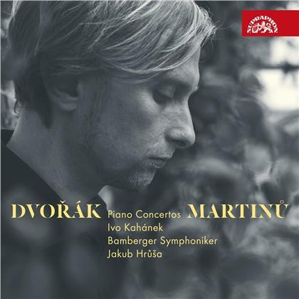 Antonin Dvorák (1841-1904), Bohuslav Martinu (1890-1959), Jakub Hrusa, Ivo Kahanek & Bamberger Symphoniker - Piano Concertos
