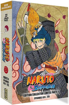 Naruto Shippuden - Partie 4 - Épisodes 624-720 (Limited Collector's Edition, 23 DVDs)