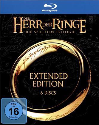 Der Herr der Ringe - Trilogie (Extended Edition, 6 Blu-ray)