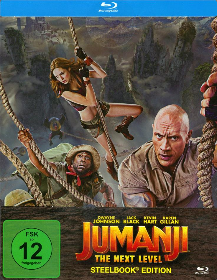 Jumanji 2 - The Next Level (2019) (Limited Edition, Steelbook)