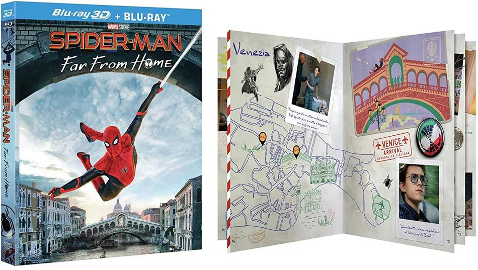 Spider-Man - Far from Home (2019) (Blu-ray 3D + Blu-ray)