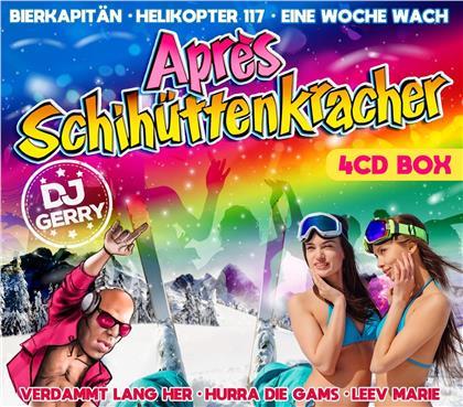 DJ Gerry präsentiert Apres Schihüttenkracher (4 CDs)