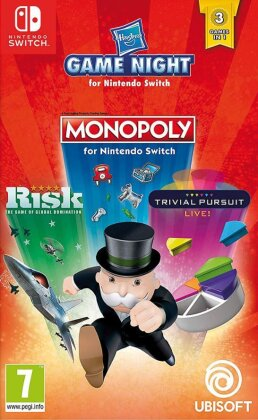 Hasbro Game Night - Monopoly / Risk / Trivial Pursuit