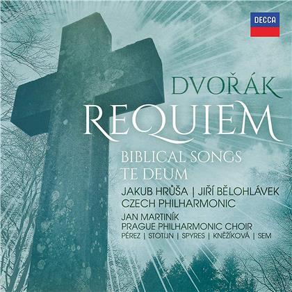 Antonin Dvorák (1841-1904), Jiri Belohlavek & Jakub Hrusa - Requiem, Biblical Songs, Te Deum