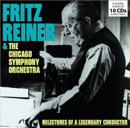 Fritz Reiner & Chicago Symhony Orchestra - Milestones Of A Legendary Conductor (10 CDs)