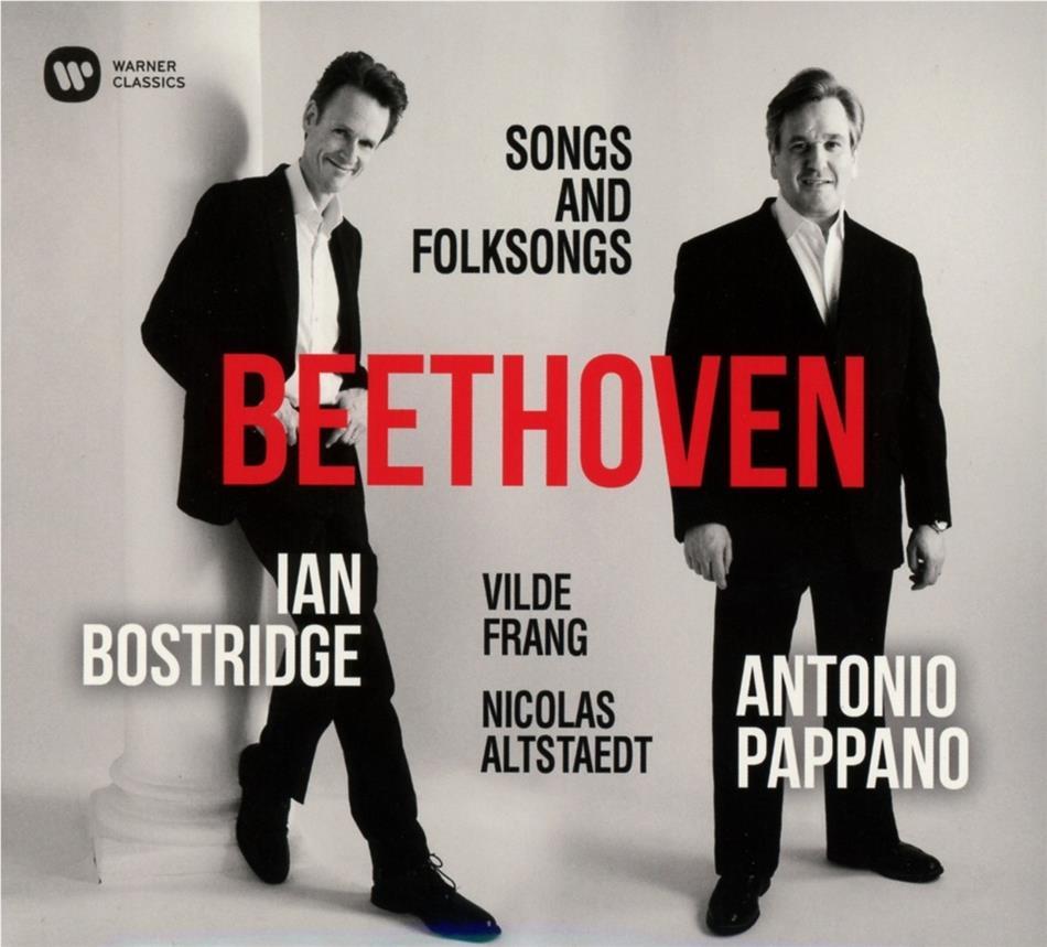 Ludwig van Beethoven (1770-1827), Ian Bostridge, Vilde Frang, Nicolas Altenstaedt & Antonio Pappano - Lieder & Volkslieder - Songs And Folksongs