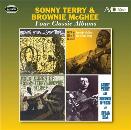 Sonny Terry & Brownie McGhee - Four Classic Albums (Boxset, 2 CDs)