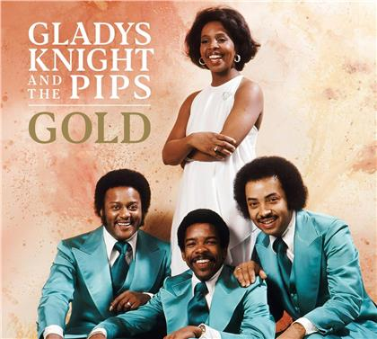 Gladys Knight & The Pips - Gold (2020 Reissue, Demon Records, Colored, LP)