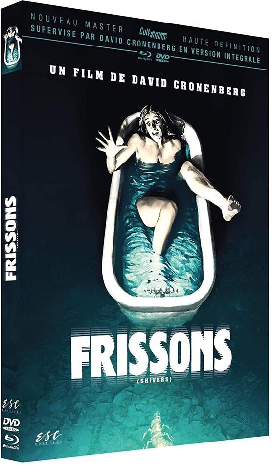 Frissons (1975) (Nouveau Master Haute Definition, Digibook, Blu-ray + DVD)