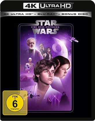 Star Wars - Episode 4 - Eine neue Hoffnung (1977) (Line Look, 4K Ultra HD + 2 Blu-rays)