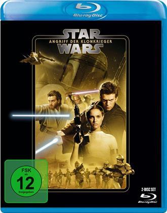 Star Wars - Episode 2 - Angriff der Klonkrieger (2002) (Line Look, 2 Blu-rays)