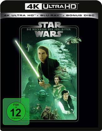 Star Wars - Episode 6 - Die Rückkehr der Jedi-Ritter (1983) (Line Look, 4K Ultra HD + 2 Blu-rays)