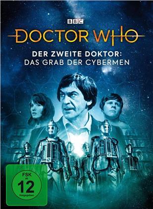 Doctor Who - Der Zweite Doktor: Das Grab der Cybermen (BBC, Edizione Limitata, Mediabook, 2 DVD)