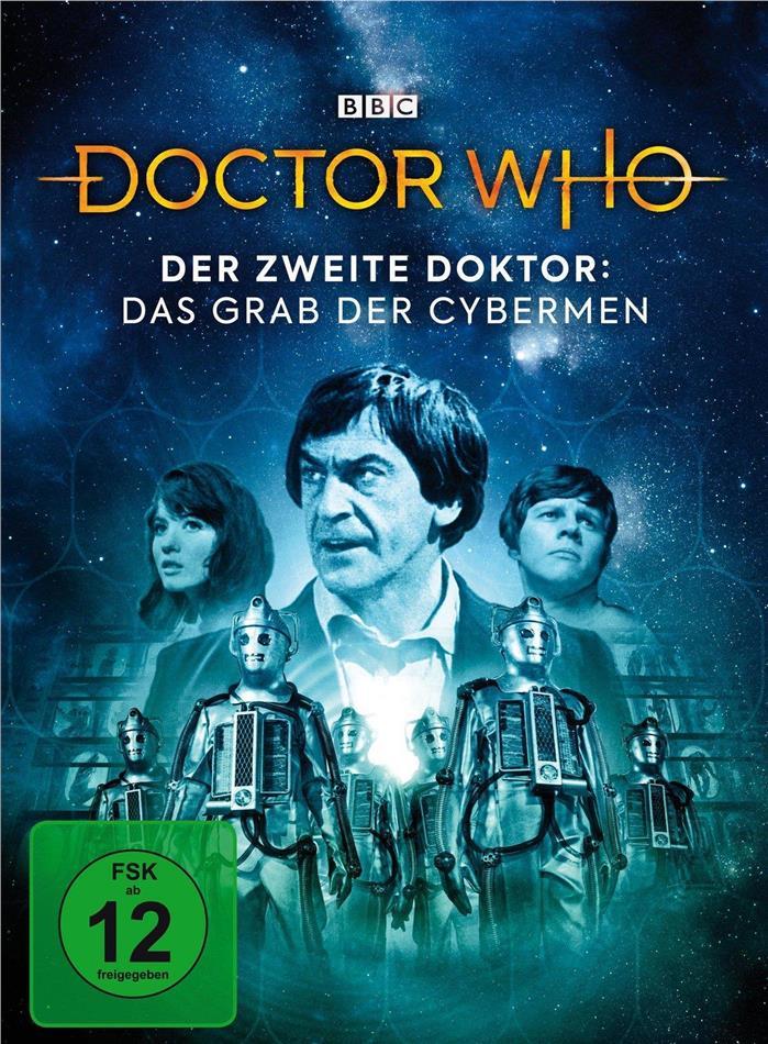 Doctor Who - Der Zweite Doktor: Das Grab der Cybermen (BBC, Limited Edition, Mediabook, 2 DVDs)