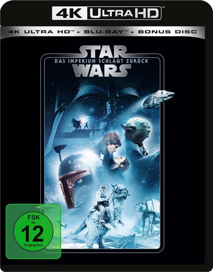 Star Wars - Episode 5 - Das Imperium schlägt zurück (1980) (Line Look, 4K Ultra HD + 2 Blu-rays)