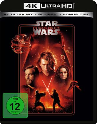 Star Wars - Episode 3 - Die Rache der Sith (2005) (Line Look, 4K Ultra HD + 2 Blu-rays)