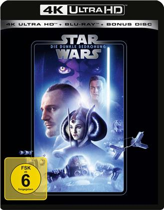 Star Wars - Episode 1 - Die dunkle Bedrohung (1999) (Line Look, 4K Ultra HD + 2 Blu-rays)
