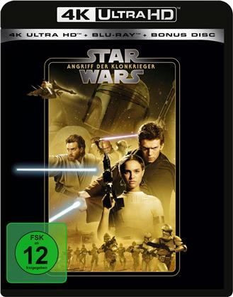 Star Wars - Episode 2 - Angriff der Klonkrieger (2002) (Line Look, 4K Ultra HD + 2 Blu-rays)