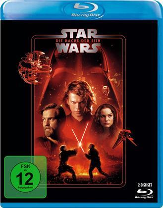 Star Wars - Episode 3 - Die Rache der Sith (2005) (Line Look, 2 Blu-rays)