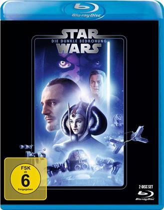 Star Wars - Episode 1 - Die dunkle Bedrohung (1999) (Line Look, 2 Blu-rays)